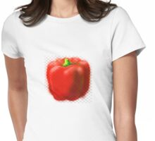 Pepper ! Womens Fitted T-Shirt