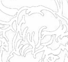 Little White Bull Sticker