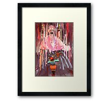 """Stage Fright""  Framed Print"