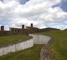 1812  Coastal Defences Inishowen by picketty