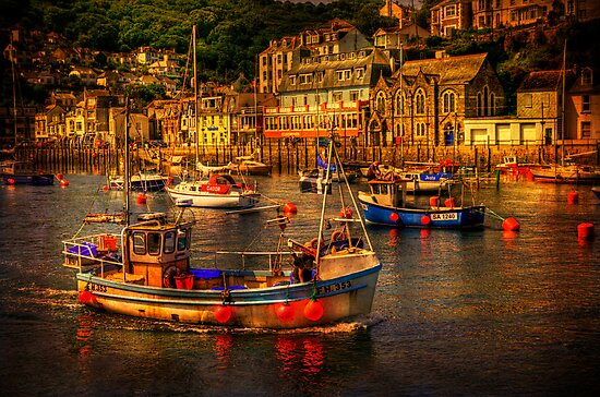 At Looe by ajgosling
