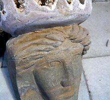 Ancient Stone Face by HeklaHekla