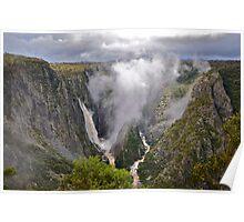 Wollomombi Falls. 15-6-11. Poster