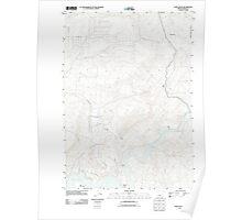 USGS Topo Map Oregon Eagle Rock 20110825 TM Poster