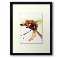 """Sleepy Eyes"" Framed Print"
