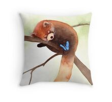"""Sleepy Eyes"" Throw Pillow"