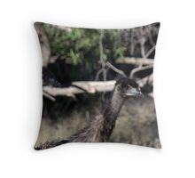 Emu youngsters. Throw Pillow