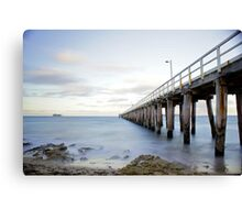 Point Lonsdale pier Canvas Print