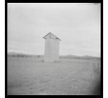 Grain silo Photographic Print