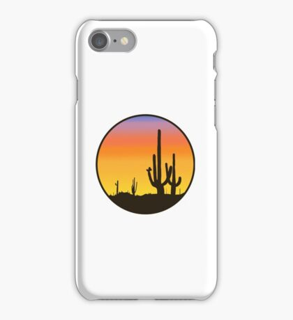Cactus Silhouette iPhone Case/Skin