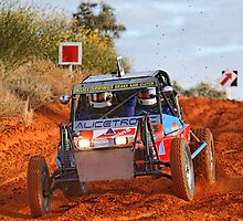 Car 384 - Finke 2011 Day 1 by Centralian Images