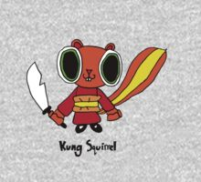 kung squirrel One Piece - Short Sleeve