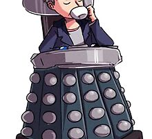 "Doctor Who - Capaldi On Davros ""Chair"" by dooweedoo"