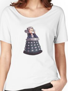 "Doctor Who - Capaldi On Davros ""Chair"" Women's Relaxed Fit T-Shirt"