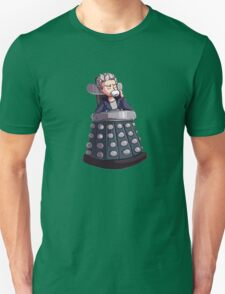 """Doctor Who - Capaldi On Davros """"Chair"""" T-Shirt"""