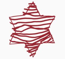 big red star Baby Tee