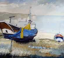 Our Georgina, North Landing, Flamborough 2 by Sue Nichol