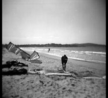 Kite surfing by PetroniusArbit