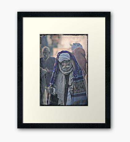 Pilgrim - Pushkar Framed Print
