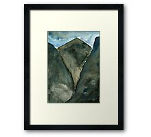 Mourne Abstract 5 Framed Print