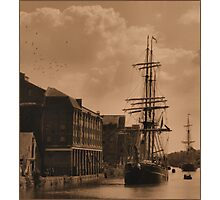 tall ships are comming Photographic Print