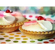 Polka dots and Pie Photographic Print
