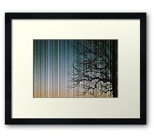 Streaks in the Sky Framed Print