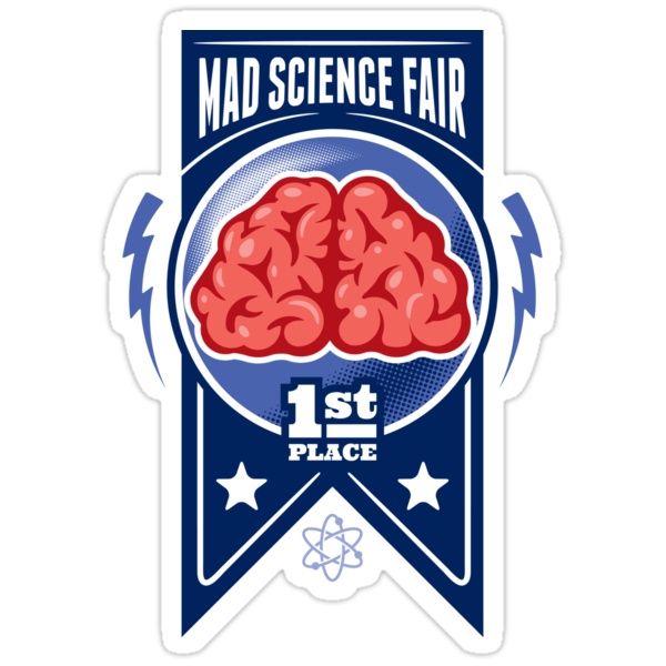 First Place at the Mad Science Fair Color by pufahl