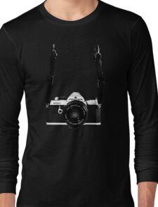 Vintage 35mm SLR Camera Pentax MX  Long Sleeve T-Shirt