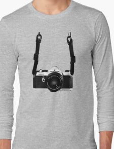 Vintage 35mm SLR Camera Pentax MX  Long Sleeve T-Shirt