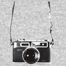 Vintage 35mm Rangefinder Camera Yashica Electro 35 GSN by AnalogSoulPhoto