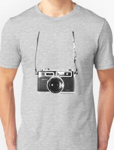 Vintage 35mm Rangefinder Camera Yashica Electro 35 GSN Unisex T-Shirt