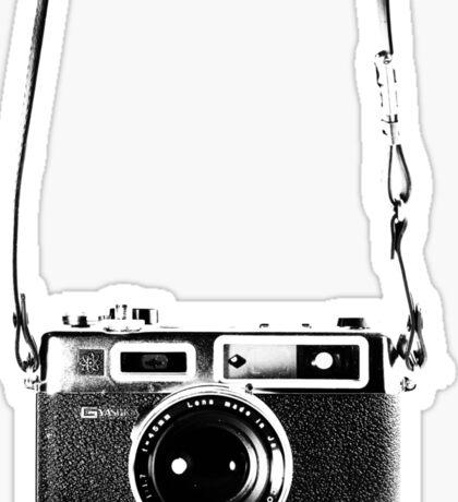 Vintage 35mm Rangefinder Camera Yashica Electro 35 GSN Sticker