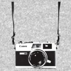 Vintage 35mm Rangefinder Camera Canon Canonet QL17 GIII by AnalogSoulPhoto