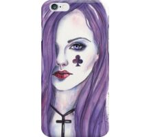 Queen of Clubs iPhone Case/Skin