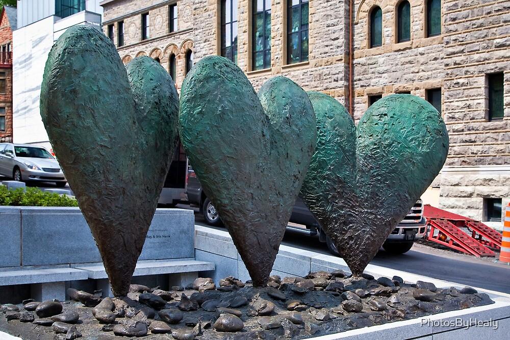 Three Hearts on a Rock by PhotosByHealy