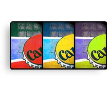 Carib Beer Art Canvas Print