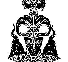 Elephant Mask by Roy Guzman