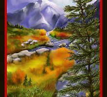 Bright Mountain View by SGodsey