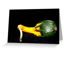 One Gourd Greeting Card