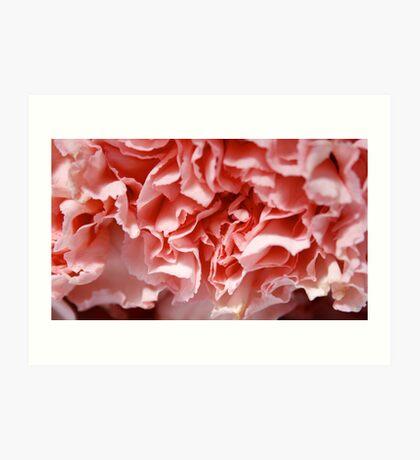 Pink Creases Art Print