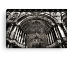 Threshold - St Mark's Basilica, Venice Canvas Print