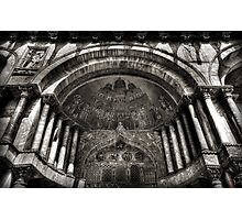 Threshold - St Mark's Basilica, Venice Photographic Print