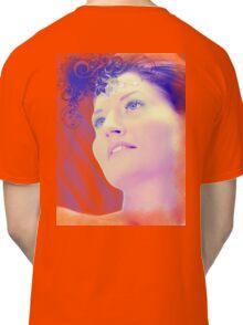 Blue woman Classic T-Shirt