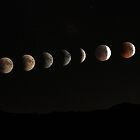 Lunar Eclipse - June 2011 by Gaurav Dhup