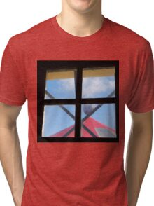 Jailhouse Red and Blues Tri-blend T-Shirt