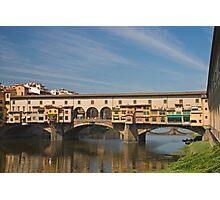 Ponte de Vecchio, Florence Photographic Print