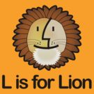 L is for Lion by abinning