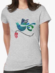 Sing Birb Sing! Womens Fitted T-Shirt