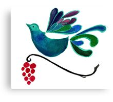 Sing Birb Sing! Canvas Print